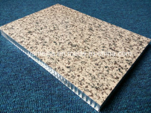 Prepainted Stone Color Aluminum Honeycomb Panels for Wall Facades pictures & photos