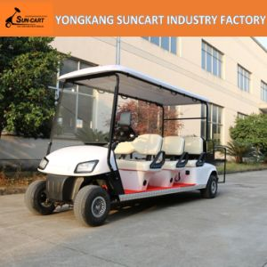 6+2 Seater Golf Cart Mini Sightseeing Bus in Hotel Airport Scenic Spot (RY-EZ-801E) , 8 Seater Electric Golf Cart for Sale pictures & photos