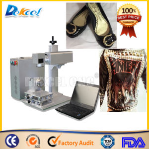 Portable Leather CO2 Laser Marking Engraving Machine pictures & photos