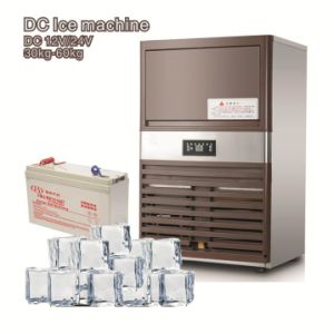 12/24V DC Commercial Use Ice Maker with Solar Power Optional pictures & photos