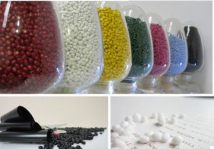 Food Grade Filler White Masterbatchs Polypropylene Granules pictures & photos