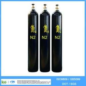 Seamless Steel Oxygen Hydrogen Argon Helium CO2 Gas Cylinder (ISO9809 /GB5099) pictures & photos