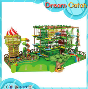 Nets Obstacle Indoor Playground Climbing Ropes pictures & photos