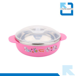 Hot Sales Cartoon Style 304 Stainless Steel Children Bowl Set pictures & photos