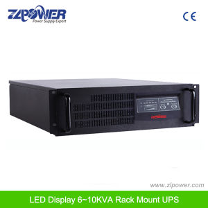 "2u/3u 19"" Rackmount Online UPS 1-10kVA LED Display pictures & photos"