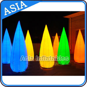 Colorful Circular LED Inflatable Cone Models, LED Inflatable Cone for Stage / Exhibition / Promotion / Advertising / Wedding pictures & photos