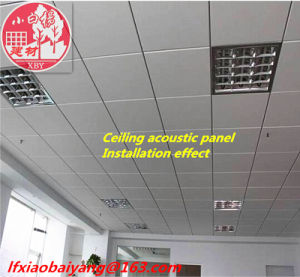 Acoustic Sound Absorption Fabric 3D Panels for Office Acoustic Panel Wall Panel Ceiling Panel Decoration Panel pictures & photos
