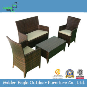 High Back Rattan Hotel Chair Set (FP0107)
