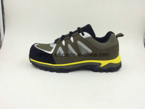 Sports Designed Fashionable Men′s Leather Safety Shoes (16065) pictures & photos