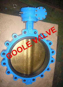 150lb~600lb Lug Type Soft Seal Butterfly Valve (GAD371X) pictures & photos