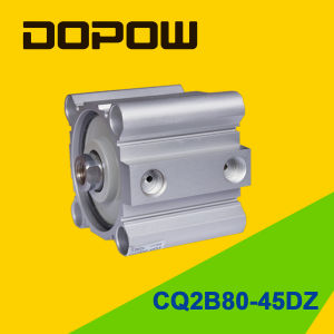 Dopow Series Cq2b80-45 Compact Cylinder Double Acting Basic Type pictures & photos