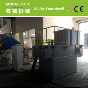 Waste Car Tire Rubber single shaft plastic shredder machine pictures & photos