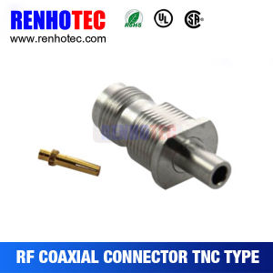 Rg58 Rg142 Rg141 LMR195 Antenna Cable Male Straight TNC Connector pictures & photos