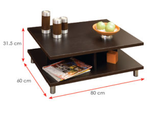 Modern Living Room Furniture Wooden Coffee Table (HX-DR171) pictures & photos