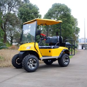 2 Seater Electric Hunting Golf Cart for Holliday Village pictures & photos