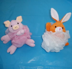 Natural Sisal Animal Rabbit Baby Bath Toy China Manufacturer pictures & photos