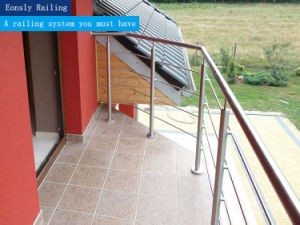 Outdoor Baclony Stainless Steel Cable Railing/ Terrace / Deck Railing pictures & photos