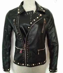 Leather Jacket for Lady, Fashion Clothing pictures & photos