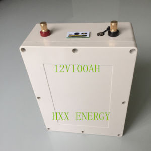 12V 50ah Rechargeable Lithium Battery with USB and LED Lamp pictures & photos