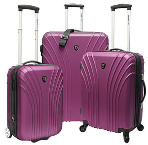 Hot Trolley Wheel Luggage pictures & photos