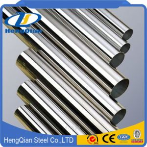 Mirror Finish 201 304 316 321 310S Seamless Stainless Steel Tube for Handrail pictures & photos