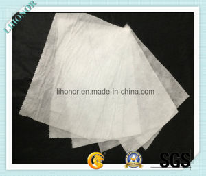 White Nonwoven Needle Punching Filter Cloth pictures & photos