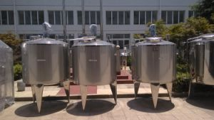Sanitary Stainless Steel Electric Heating and Mixing Ingredient Tank pictures & photos