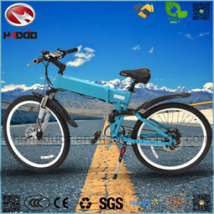 Wholesale Alloy Frame Electric Bicycle with Hydraulic Suspension pictures & photos