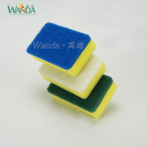 3 Difference Usage Set Scouring Sponge Scourer for Household Cleaning pictures & photos