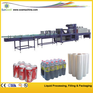 Semi Automatic Film Shrink Wrapping Machine / Shrink Packaging Machine pictures & photos