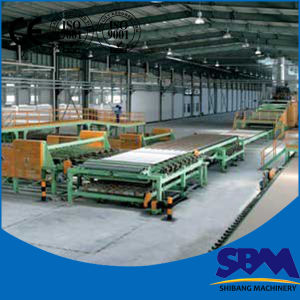 Hot Sale Professional Gypsum Board Production Line, Gypsum Plasterboard Plant pictures & photos