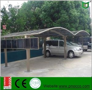 High Quality Aluminum Profile Carport Made by Pnoc Factory pictures & photos