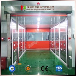 Commercial Soft Rapid Rolling High Speed Roller Shutter PVC Door Indoor pictures & photos