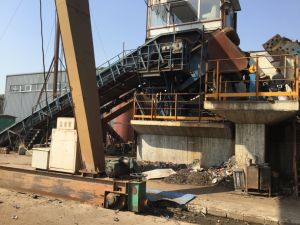 PSX-3000 Recycling Scrap Metal Shredder Line pictures & photos