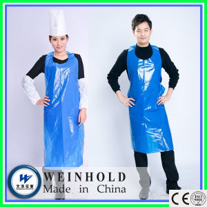High Quality Factory Sale Hairdresser Salon PE Aprons pictures & photos