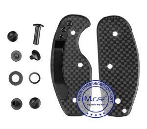 Custom Multiple Portable Compact Fancy Smart Carbon Fiber Key Holder pictures & photos