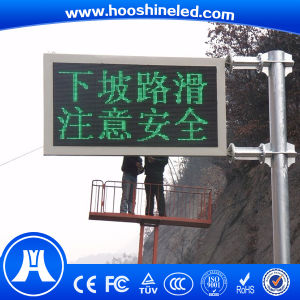 Traffic Sign Outdoor Single Color P10-1g DIP LED Electronic Display pictures & photos