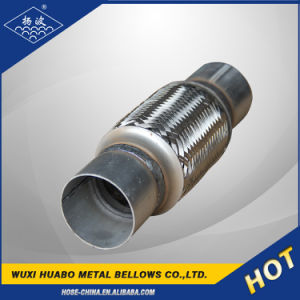 Automobile Flexible Exhaust Pipe with Nipple pictures & photos