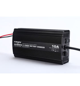 12V 10A Automatic 3 Stage Battery Charger with Full Range Input Voltage pictures & photos
