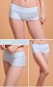 Anti-Bacterial Silver Fiber Modal Underwear for Women pictures & photos