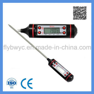 Pen Probe Thermometer Digital Food Meat Cooking Kitchen BBQ Liquid Thermometer pictures & photos
