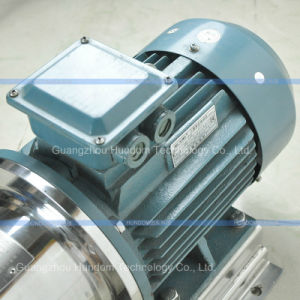 Inline High Shear Three Stage Homogenizer Pump pictures & photos