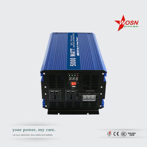 5000W 12V/24V/48V Solar Inverter Pure Sine pictures & photos