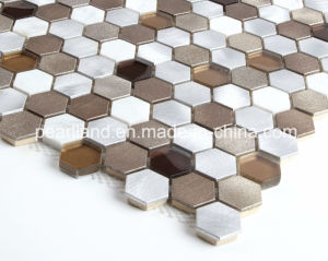 Hot Sale Hand-Cut Wall Art Aluminum Mosaic pictures & photos