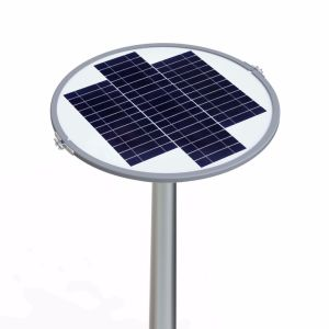 Popular Design High Lumens Solar LED Garden Light Warm White pictures & photos