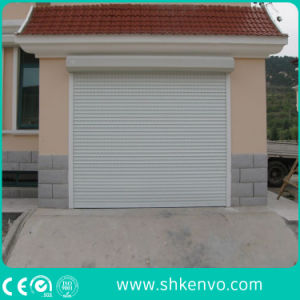 Metal or Aluminum Alloy Industrial Motorized Automatic Overhead Roller Shutter Warehouse Garage Door pictures & photos