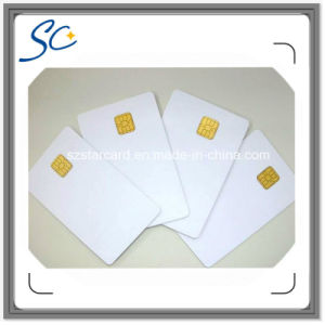 Free Samples Sle5542 Plastic Smart Contact IC Card for Shopping pictures & photos