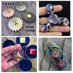 Most Creative New Design Alloyed Metal Brass Finger Spinners pictures & photos