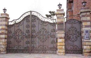 High Level Wrought Iron Garden Villa Gate pictures & photos