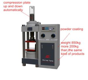 Stye-2000b Digital Display Hydraulic Material Compression Testing Machine pictures & photos